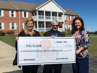 Jack's Family Fund Sets Record, Helps Kids to Love