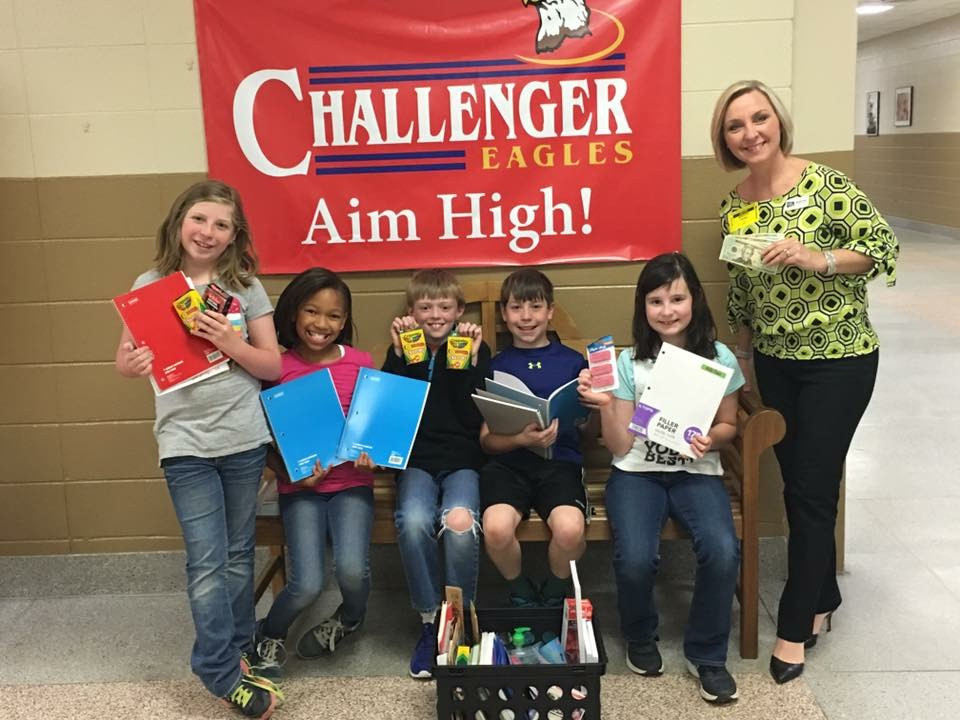Challenger Middle School supports Kids to Love