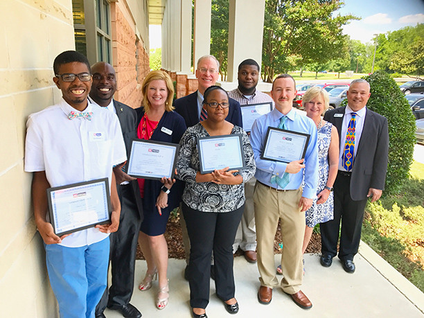 KTECH's graduating class are certified Level 1 Siemens Mechatronic Systems Assistants.