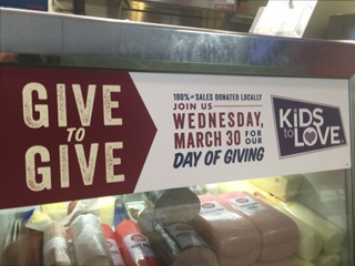Kids to Love, Jersey Mikes, Day of Giving, Huntsville, Alabama