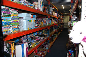 Kids to Love warehouse of Christmas items
