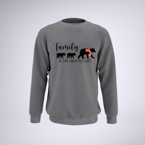 Kids to Love Family is the Greatest Gift Sweatshirt