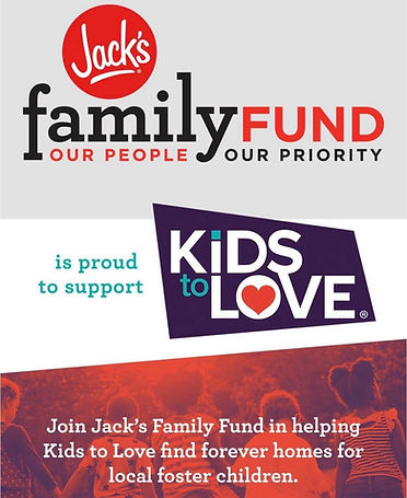 Jack's Family Fund is proud to support Kids to Love graphic