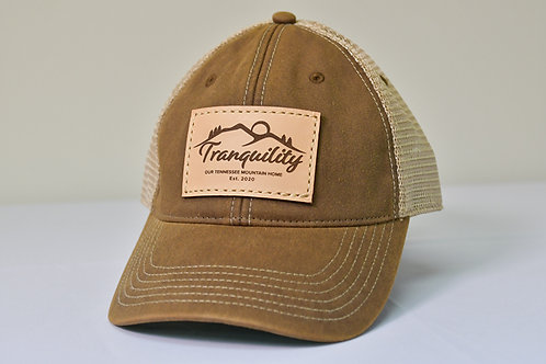 Tranquility Cap in Brown