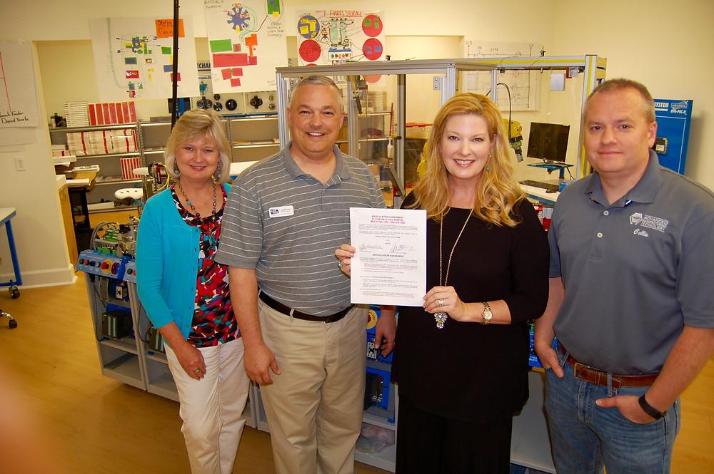 KTECH and Calhoun Community College partner