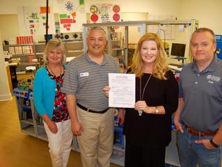 KTECH & Calhoun Community College Partner for Education