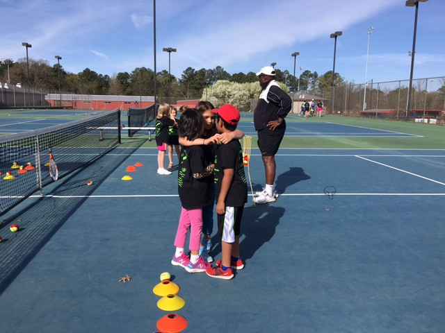 Coach Garrett, Spring Break Tennis, Kids to Love