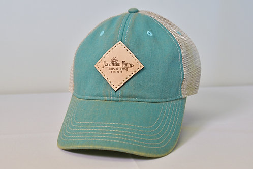 Davidson Farms Cap in Aqua
