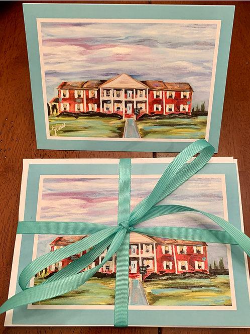 Davidson Farms notecards - qty: 12
