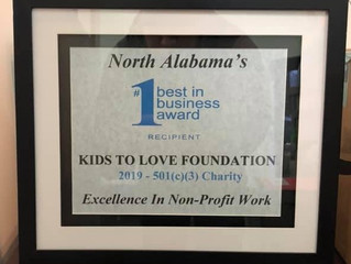 "Kids to Love Voted ""Best in Business"""