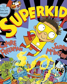 Topic book about Superheroes for children in Early Years and KS1