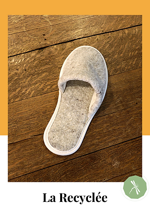 Odonate Slippers ref. The Recycled