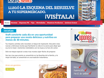 KraftHeinz Website