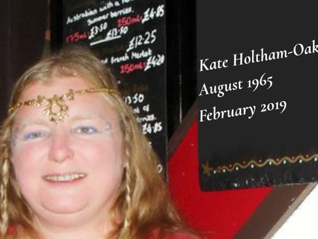 Kate Holtham-Oakley 1965–2019