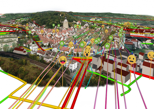 Virtual Tourism in Germany: Herrenberg Diaries