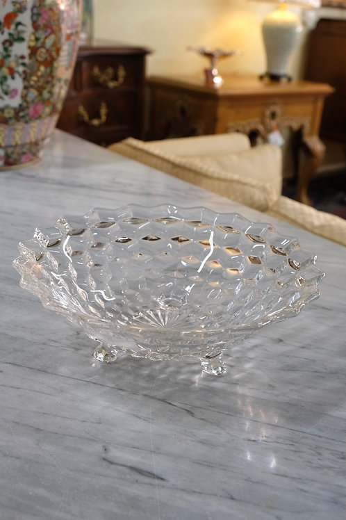 """""""American"""" Fostoria Footed Bowl"""
