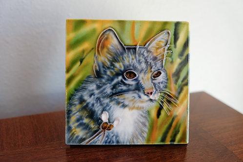 Hunter Cat Tile