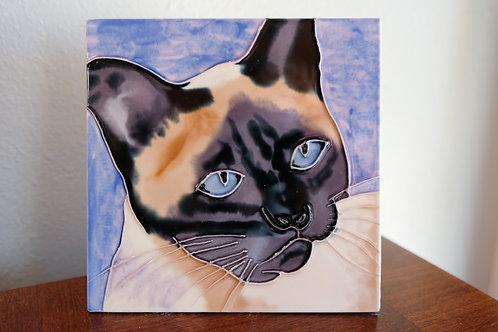 Siamese Cat Tile
