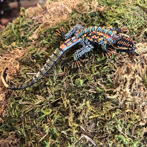Trovelore Caiman Lizard Brooch