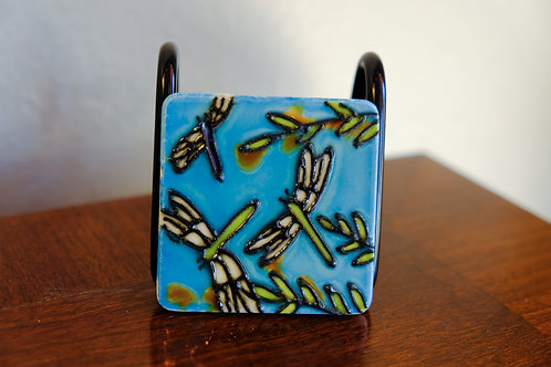 Ceramic Small Dragonfly Magnet