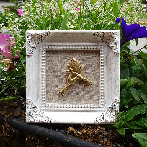 Mini Deer Framed Art