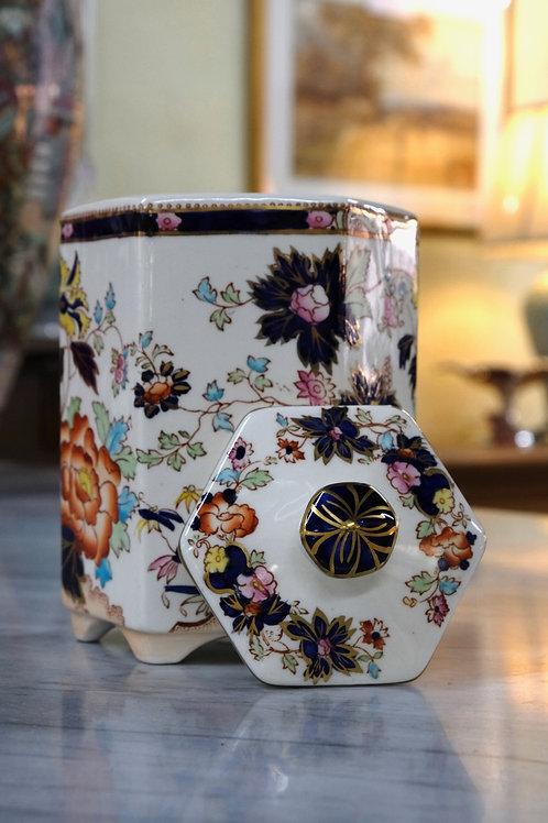 19th Century Mason Tea Caddy