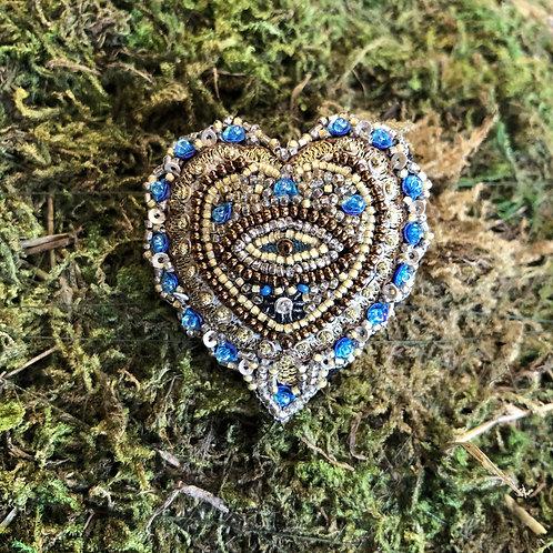 Trovelore Ocean Heart Brooch