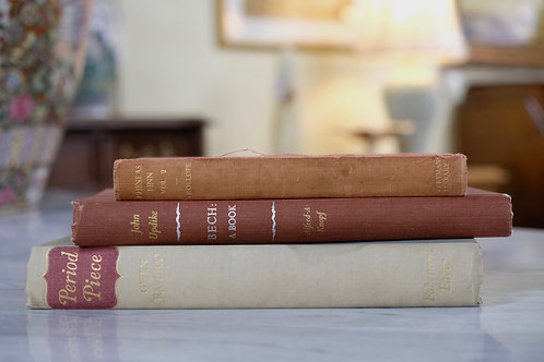 Set of Three Books