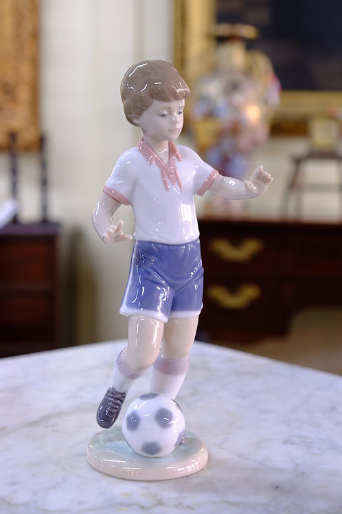 Lladro Soccer Player