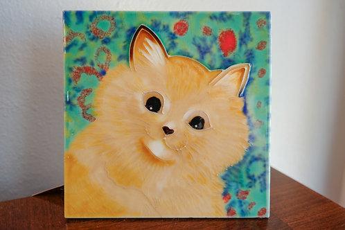 Paisley Cat Tile