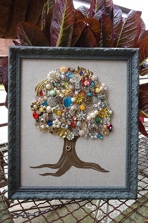 Large Tree Framed Art