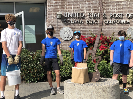 2020 Mulch Day at the Post Office