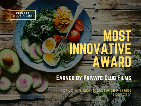 """PCF Wins """"Most Innovative Award"""" for John's Island Club """"Sourced"""" video series"""