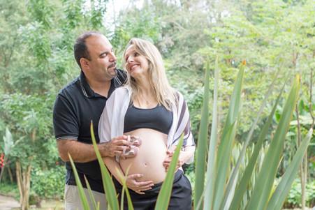 Ensaio Gestante - Karen e Rafael - Parque do Piqueri