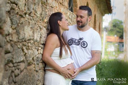 Juliana e André | À espera de Pietro | Fazenda Ipanema
