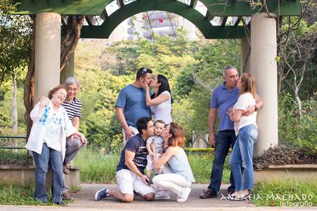 Ensaio de família | Karine e Rodrigo | Parque Villa Lobos