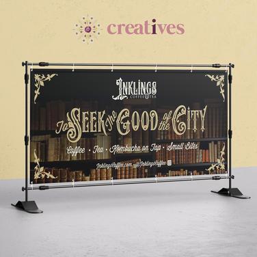 Vinyl Banner for Inklings