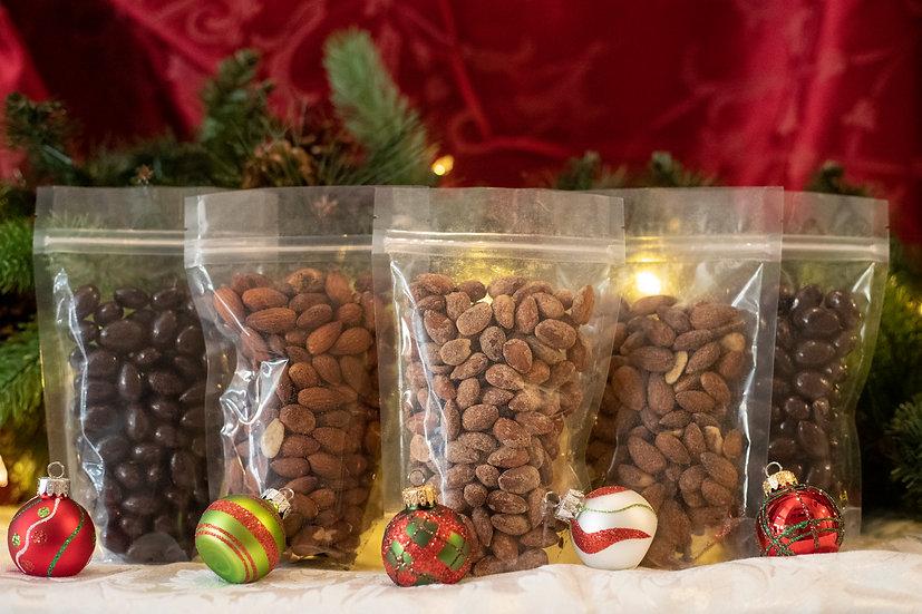 4 Seasonal Flavored Almonds