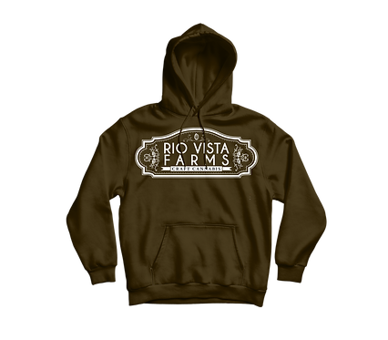 Peanut Butter Breath Brown Pullover Hoodie
