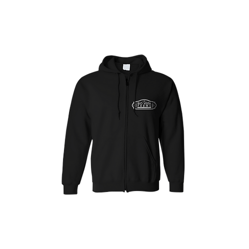 Peanut Butter Breath Black Zip Up Hoodie