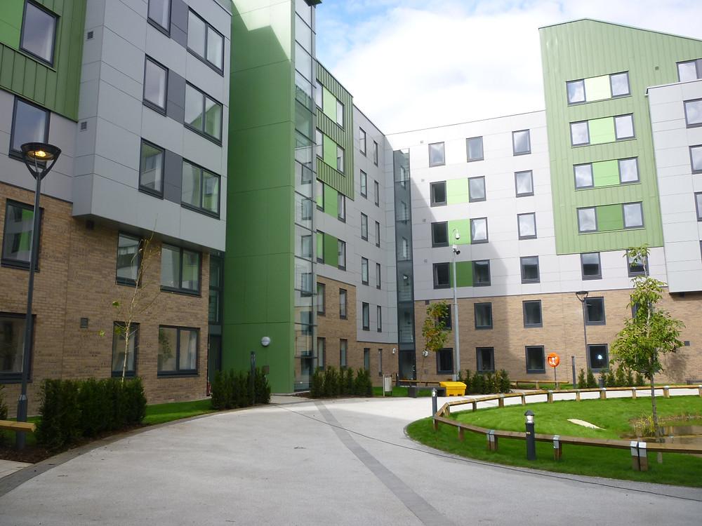 University of Bradford, The Green