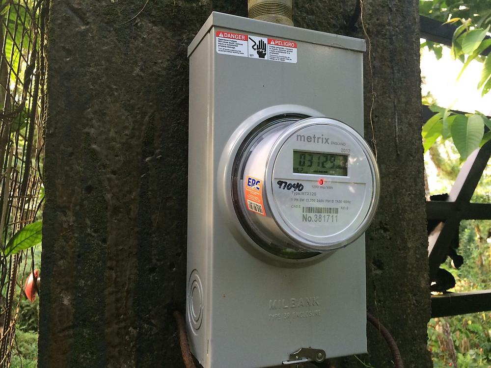 PG&E power meter