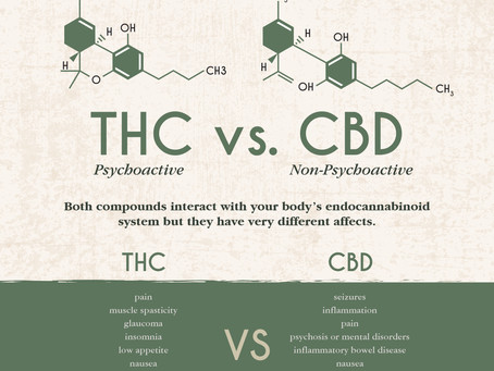 THC vs. CBD: Are they the same?
