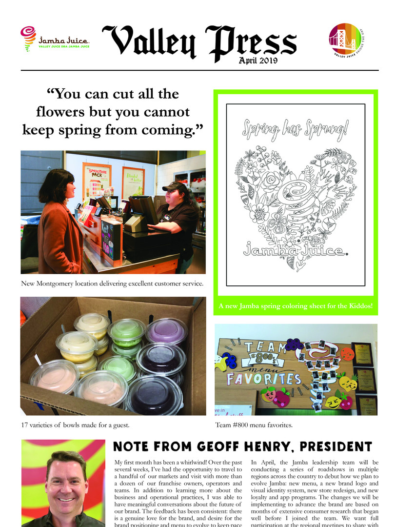 Valley Press April 2019