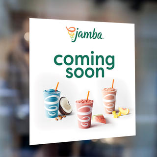 Window Cling for Jamba
