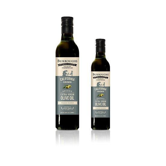 Organic Extra Virgin Olive Oil - Family Blend