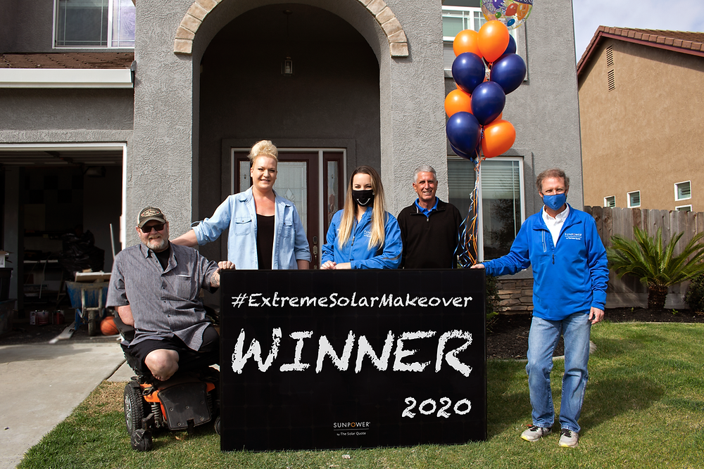 4th Annual Extreme Solar Makeover Winner