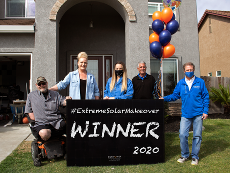 Interview with Winner of the 4th Annual Extreme Solar Makeover