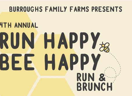 4th Annual Run Happy Bee Happy Announced!