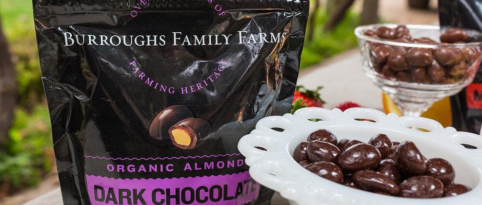 Organic Chocolate Covered Almonds